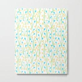 25 Tiny Blossoms Metal Print