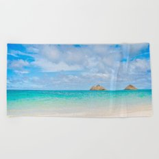 Lanikai Beach Beach Towel