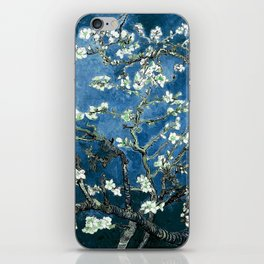 Van Gogh Almond Blossoms : Ocean Blue iPhone Skin