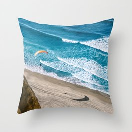 DROPPING IN Throw Pillow