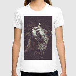 Reclusive Raccoon II. Photograph T-shirt