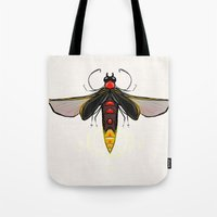 firefly Tote Bags featuring Firefly by Conrad