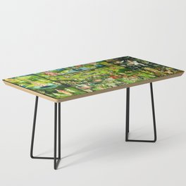 The Garden of Earthly Delights Triptych by Hieronymus Bosch Coffee Table