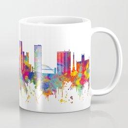 Newcastle UK Skyline Coffee Mug