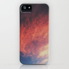 devilish skies iPhone Case