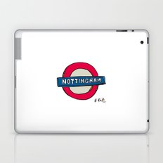 tube sign Laptop & iPad Skin