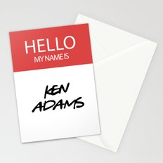 HELLO MY NAME IS... KEN ADAMS Stationery Cards