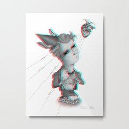 3D nuova generazione Metal Print