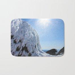Winter mountains Bath Mat