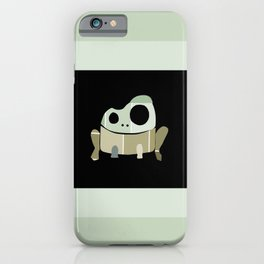 Paint Chip Frog iPhone Case