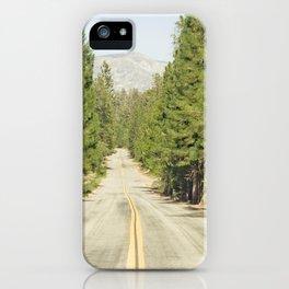 Sierra Nevada Highway iPhone Case
