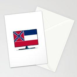 Mississippi Flag TV Stationery Cards