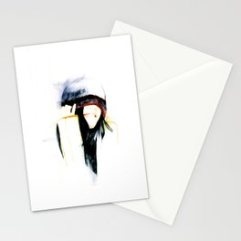 True happiness comes from heart  Stationery Cards