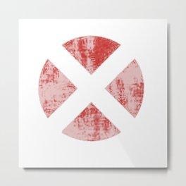 x-men logo Metal Print