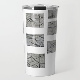 rubik's cube two Travel Mug
