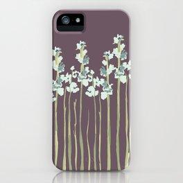 Marshmallows in Purple iPhone Case