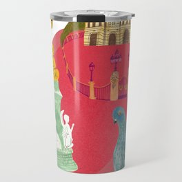 Queens House in England Travel Mug