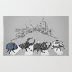 The Beetles Rug