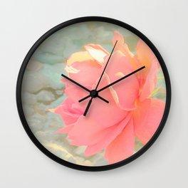 Romantic rose decor Wall Clock