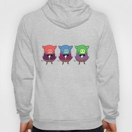 The three little pigs Hoody