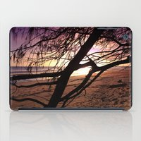 bebop iPad Cases featuring Early morning beach walks are filled with treasures by Donuts