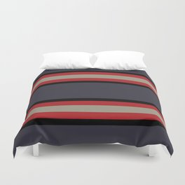The Boldest Stripes, Duvet Cover