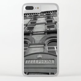 The Booth Clear iPhone Case