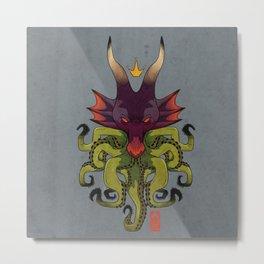 Glitcher Metal Print