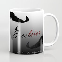 EXCELSIOR   The Raven Cycle by Maggie Stiefvater Coffee Mug