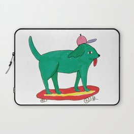 Skater Dog Laptop Sleeve