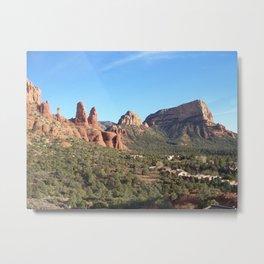 Red Rocks of Sedona, Arizona Metal Print
