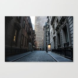 Financial District NYC Canvas Print