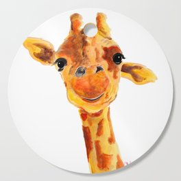 GiRaFFe / Zoo PRiNT ' ToMMY ' BY SHiRLeY MacARTHuR Cutting Board