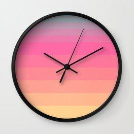 Neon Dream Wall Clock