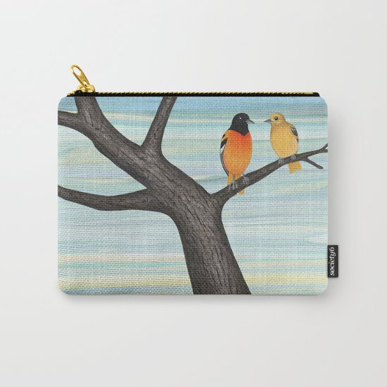 Orioles and daffodils Carry-All Pouch