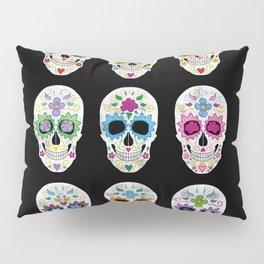 Nine skulls Pillow Sham