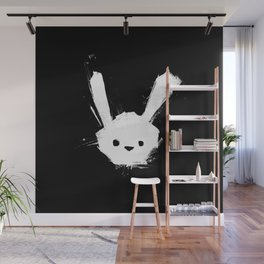 minima - splatter rabbit  Wall Mural