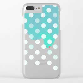 Waves of Love! Clear iPhone Case