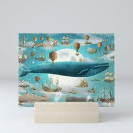 Ocean Meets Sky Mini Art Print