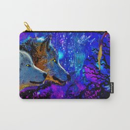 WOLF DREAMS AND VISIONS Carry-All Pouch