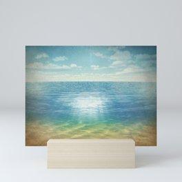 Insta Beach Mini Art Print