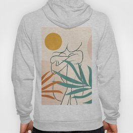 Minimal Line in Nature I Hoody