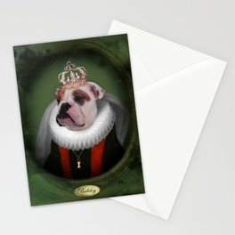 English Bulldog Art - Lucy Stationery Cards