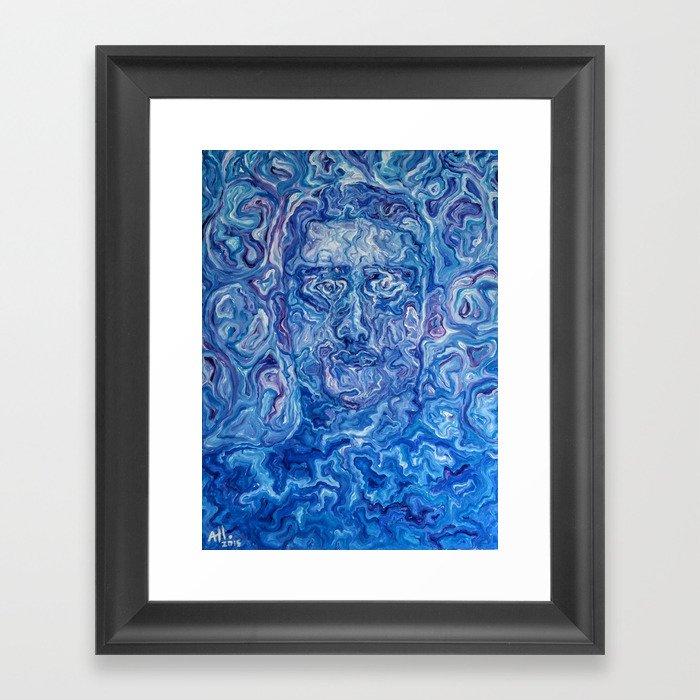 Spirit Self Portrait Framed Art Print