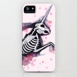 Unicorn Bunny iPhone Case