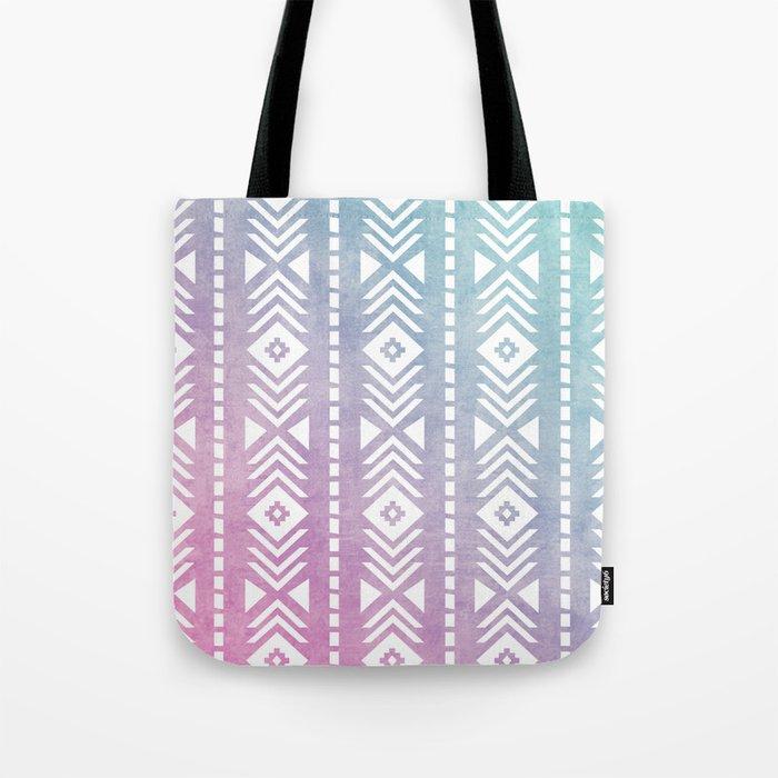 Aztec Pattern 12 Tote Bag