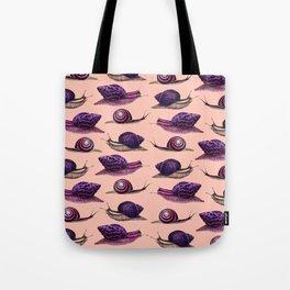 Snails x Infinity (Purple Neon) Tote Bag