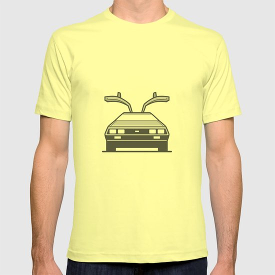 Delorean T Shirt By Brownjames Society