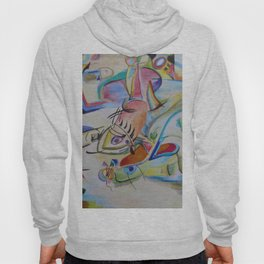 inspiration from Kandinsky . illustration . Hoody