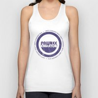 concert Tank Tops featuring pawnee/eagleton unity concert  by studiomarshallarts